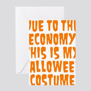 Halloween Costume Greeting Card